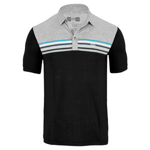 TRAVISMATHEW MENS TORINO TENNIS POLO BLACK