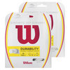 WILSON Synthetic Gut Duramax Tennis String White