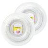 WILSON Synthetic Gut Duramax Tennis String Reel White