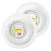 WILSON Synthetic Gut Duramax Tennis String Reel White