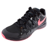 Men`s Zoom Vapor 9.5 Tour Limited Edition Tennis Shoes Black and Hyper Punch by NIKE