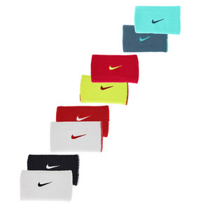 NIKE DRI FIT HOME AND AWAY DBLWIDE WRISTBAND
