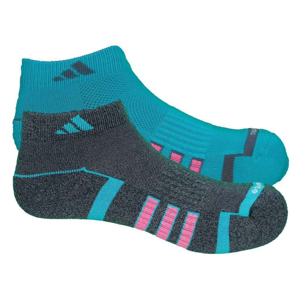 Women`s Climalite II LC Socks 2 Pack Vivid Mint and Night