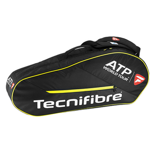 TECNIFIBRE TOUR ATP 6 PACK TENNIS BAG BLACK