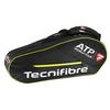 Tour ATP 6 Pack Tennis Bag Black by TECNIFIBRE