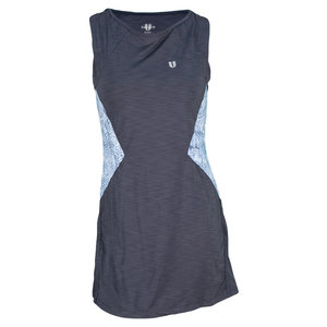 ELEVEN WOMENS BACK COURT TENNIS DRESS INDIA INK