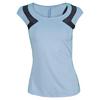 ELEVEN Women`s Racquet Cap Sleeve Tank Blue Cerulean