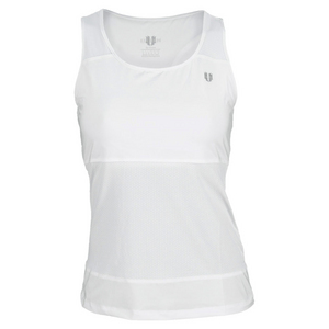 ELEVEN WOMENS RALLY TENNIS TANK WHITE