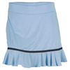 Women`s Accelerate 14.5 Inch Tennis Skort Blue Cerulean by ELEVEN