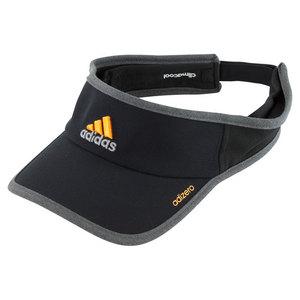 adidas MENS ADIZERO II TENNIS VISOR BK/SOL GD