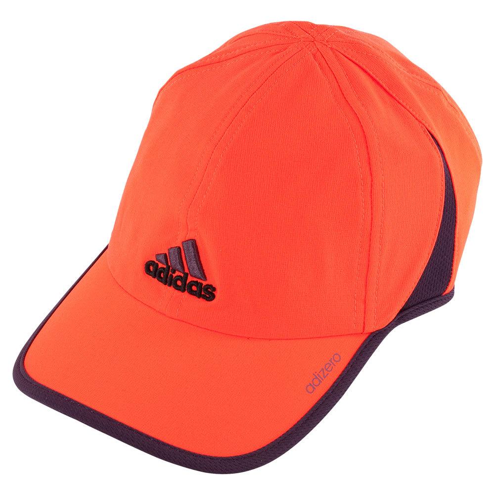 Men's Adizero Ii Tennis Cap Solar Red And Rich Red