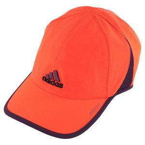 adidas MENS ADIZERO II TENNIS CAP SOL RD/RCH RD