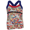 LUCKY IN LOVE Girls` Pop Tennis Cami Print