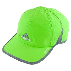 adidas MENS ADIZERO II TENNIS CAP SOL GREEN/GY