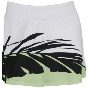 LIJA WOMENS PRINTED TENNIS SKORT WHITE