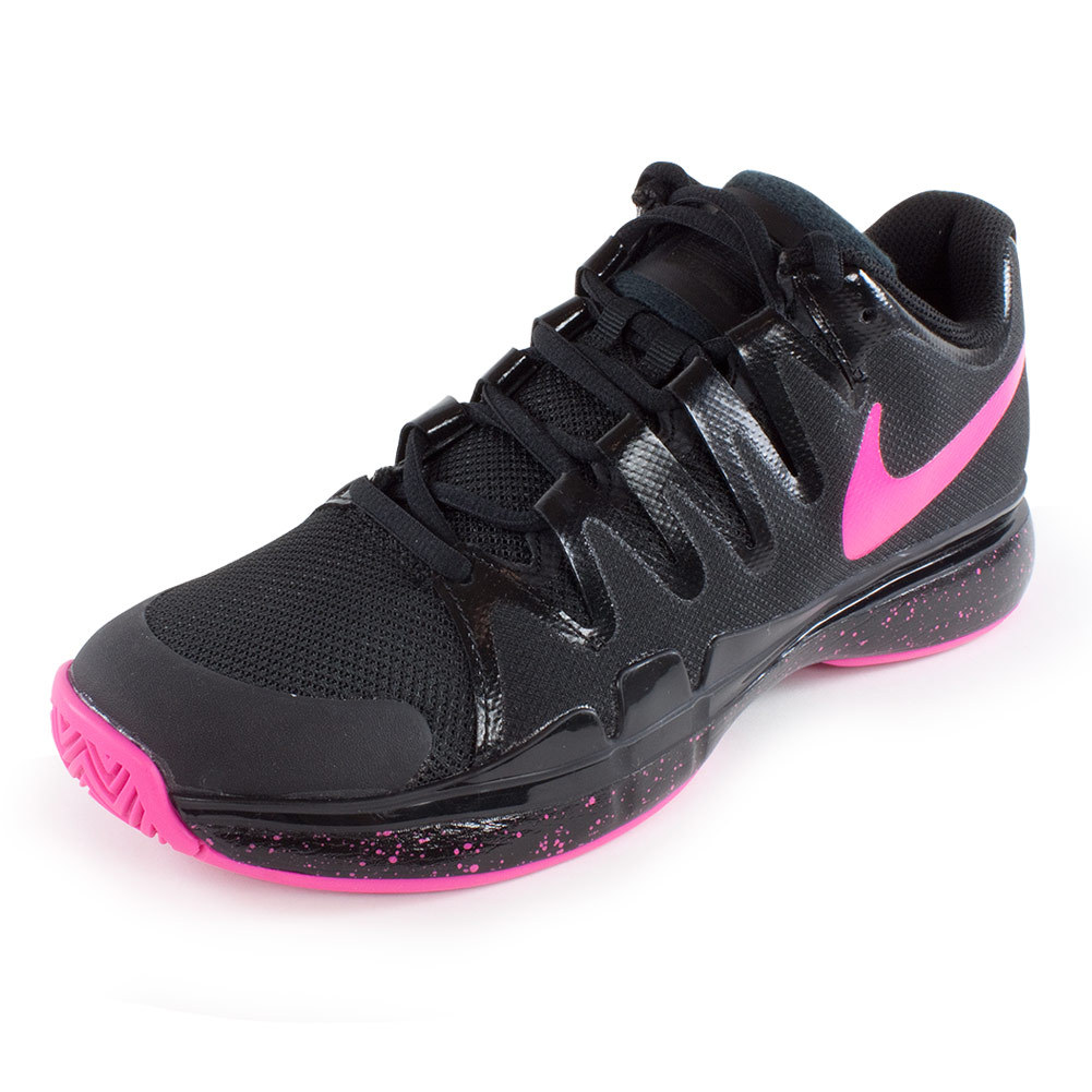 NIKE Women`s Zoom Vapor 9.5 Tour Limited Edition Tennis Shoes Black
