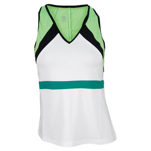 TAIL WOMENS ROWAN TENNIS TANK WHITE