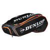 Performance 12 Pack Tennis Bag Black and Orange by DUNLOP