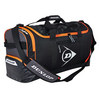 Performance Holdall Tennis Bag Black and Orange by DUNLOP