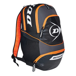 DUNLOP PERFORMANCE TENNIS BACKPACK BLACK/ORANGE