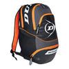 DUNLOP Performance Tennis Backpack Black and Orange
