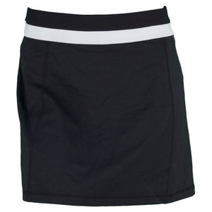 LIFE IS GOOD WOMENS FITNESS SKORT NIGHT BLACK