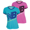 NEW BALANCE Women`s Big Brand Tech Ringer Tennis Tee