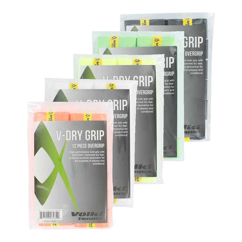 V Dry Tennis Overgrip 12 Pack