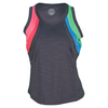 BOLLE Women`s True Colors Tennis Tank Graphite