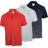Men`s Ultra Dry Printed Polo by LACOSTE
