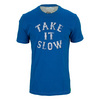 Men`s Take It Slow Tee Sapphire Blue by LIFE IS GOOD