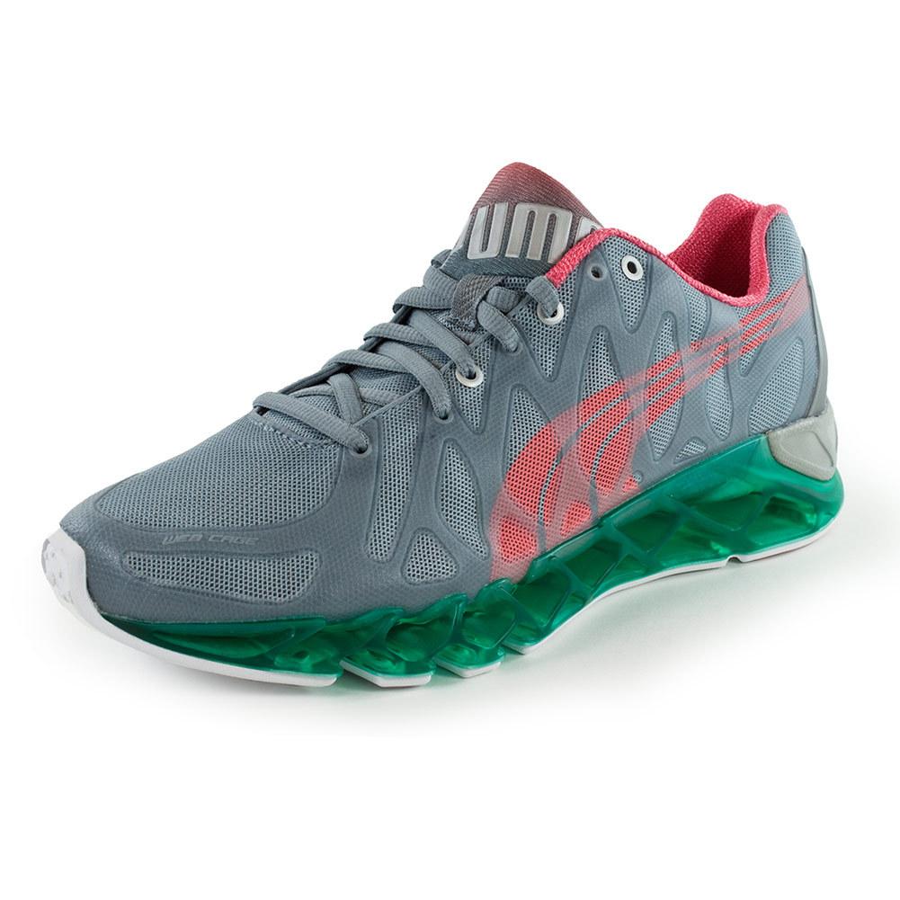 Women's Bioweb Vertex Running Shoes Tradewinds And Dubarry