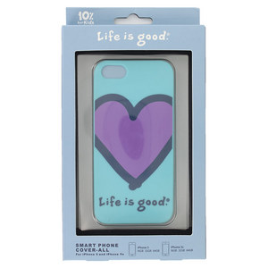 LIFE IS GOOD SMART PHONE COVER ALL SURFER BLUE