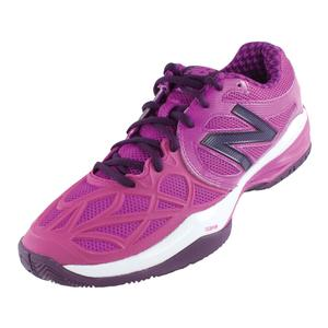 Women`s 996 B Width Tennis Shoes Poisonberry and Purple
