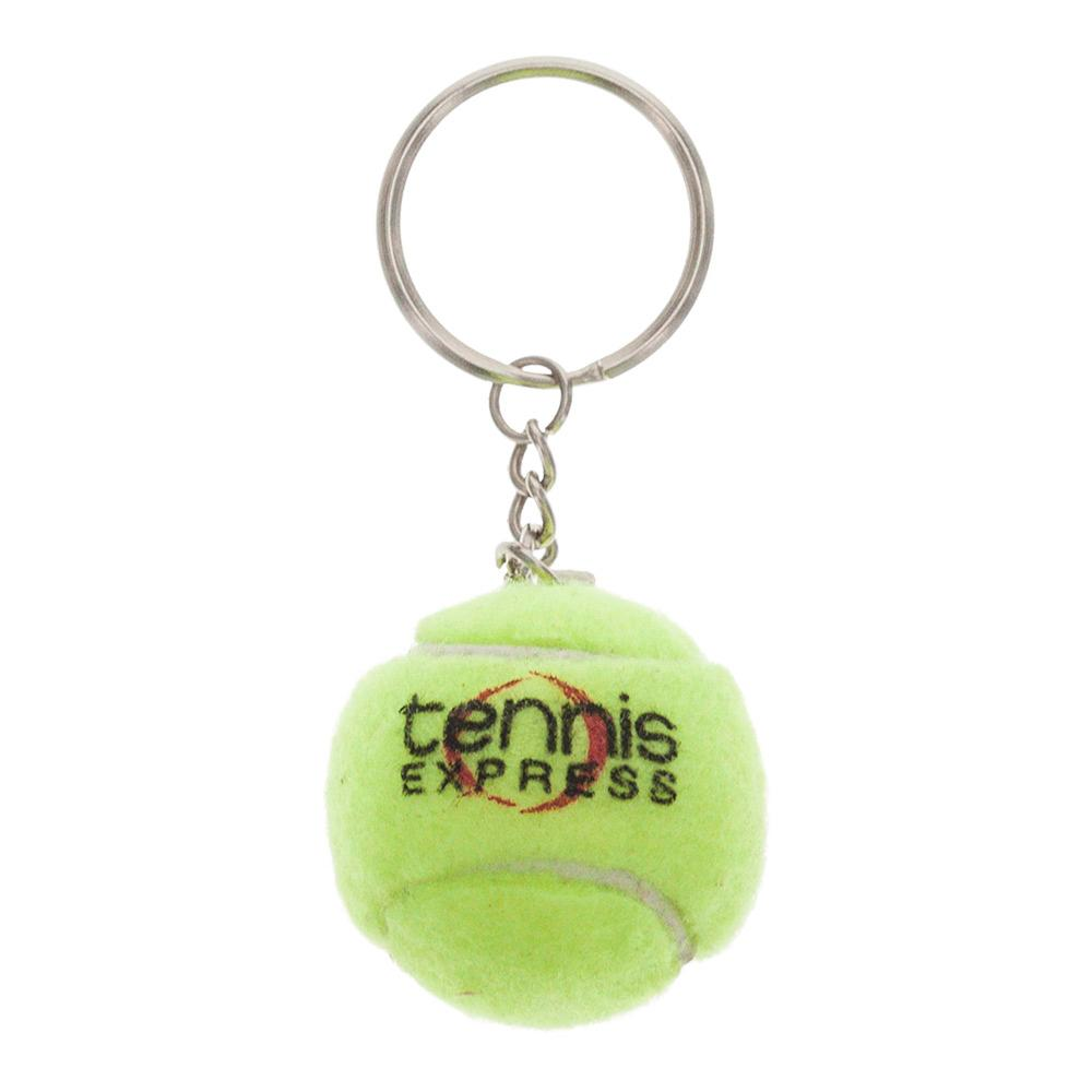 Yellow Tennis Ball Keychain