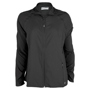LIJA WOMENS WARM UP TENNIS JACKET BLACK