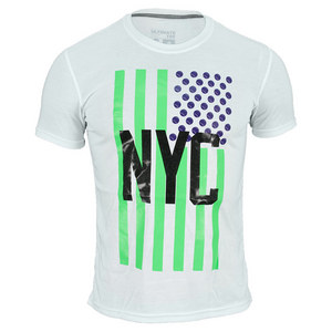 adidas MENS NYC FLAG TENNIS TEE