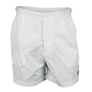 FRED PERRY MENS TAILORED TENNIS SHORT WHITE