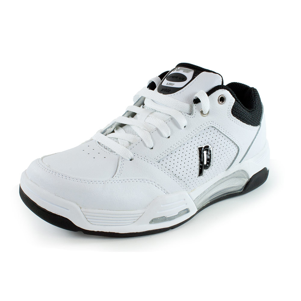 s nfs viper vii low tennis shoes white and black