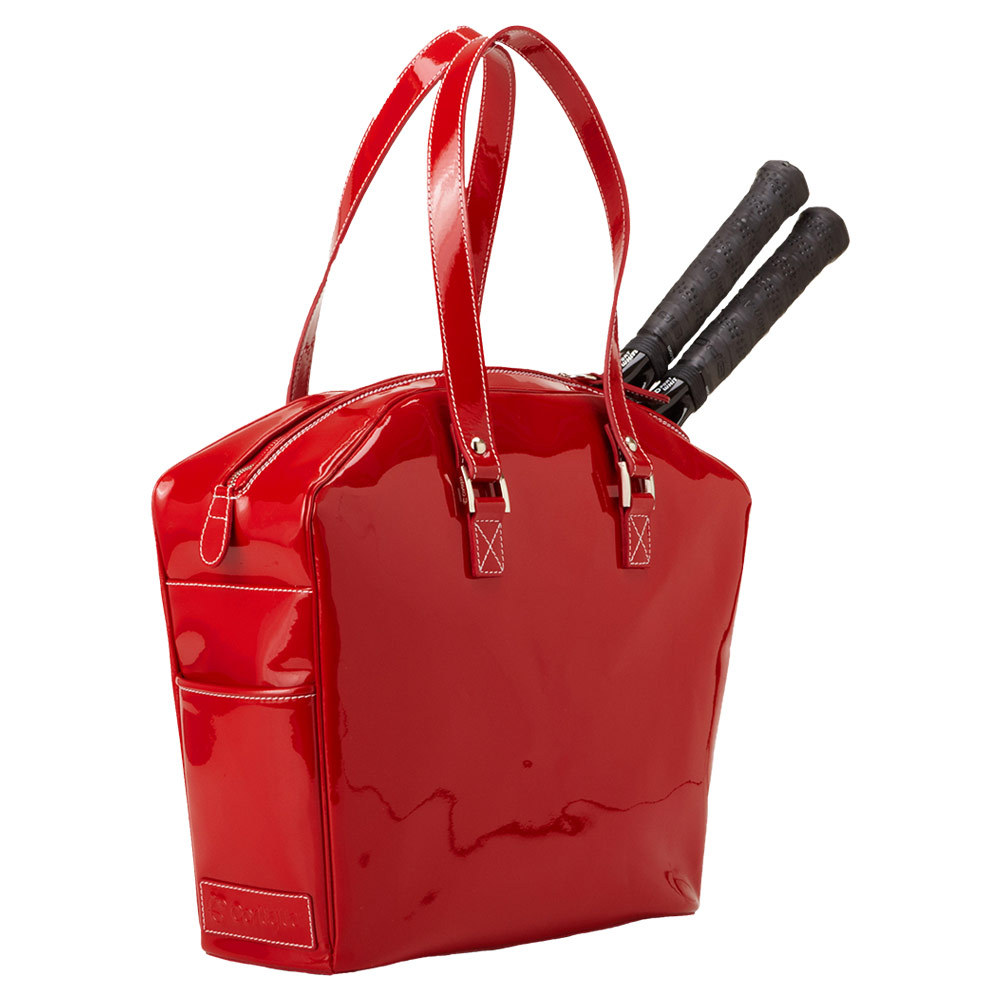 The Belvedere Tennis Bag Red