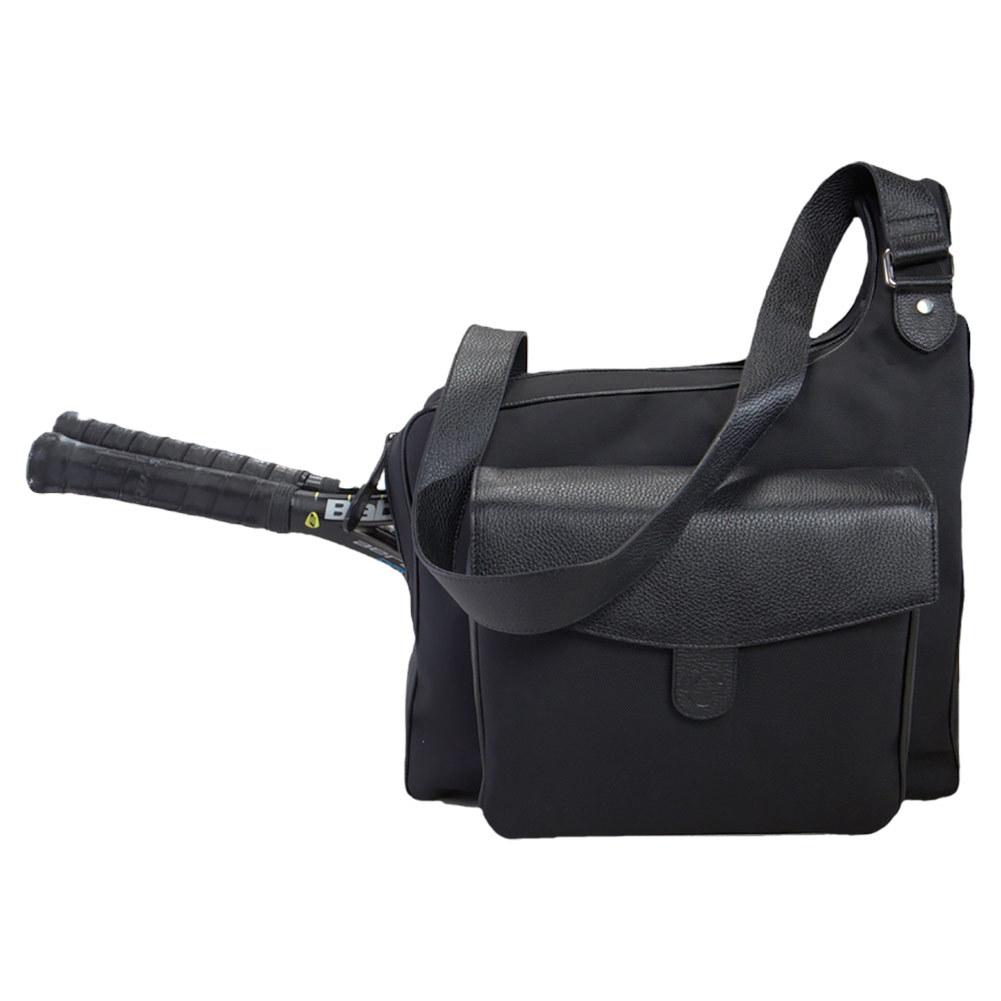 The Sport Messenger Tennis Bag Black