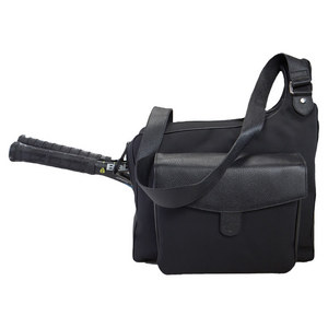 The Sport Messenger Tennis Bag Black