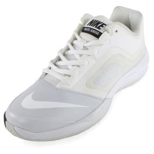Women`s DF Ballistec Advantage Tennis Shoes White and Pure Platinum