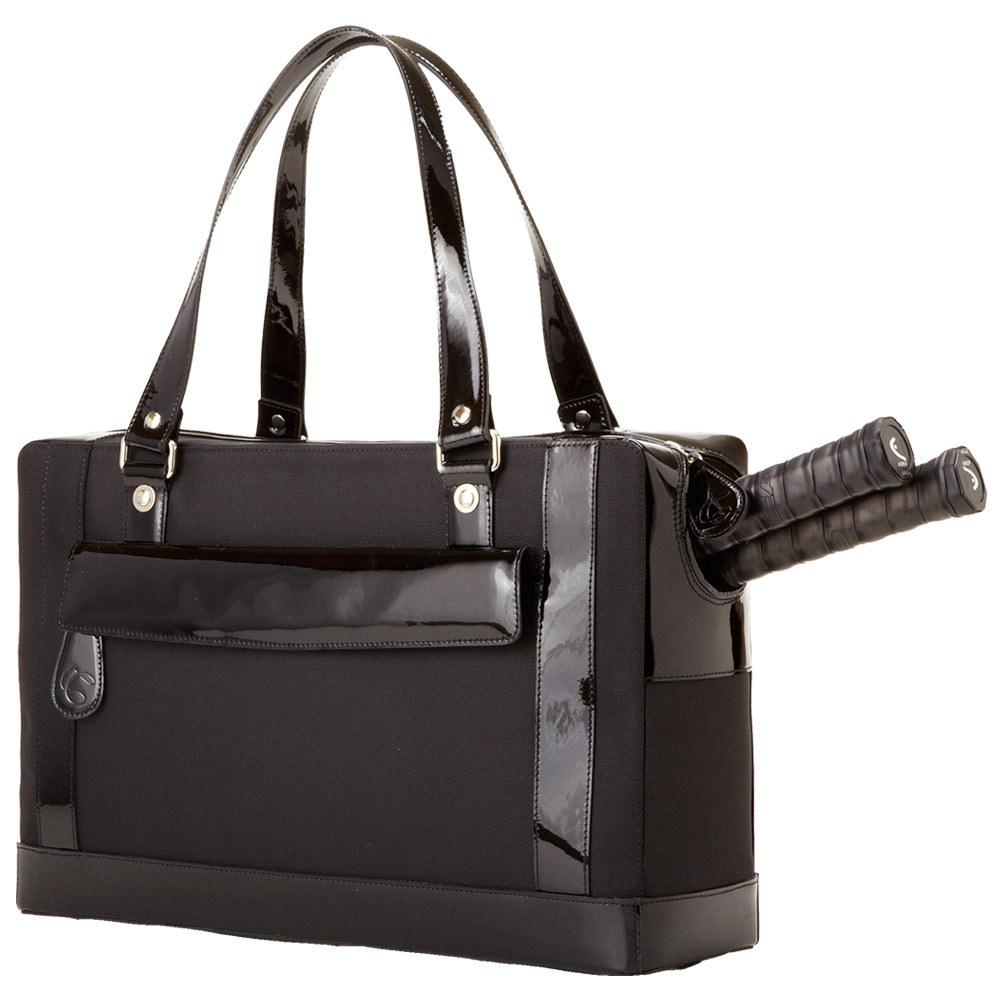 The Marina Tennis Bag Black