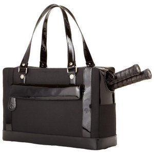 The Marina Tennis Bag Black