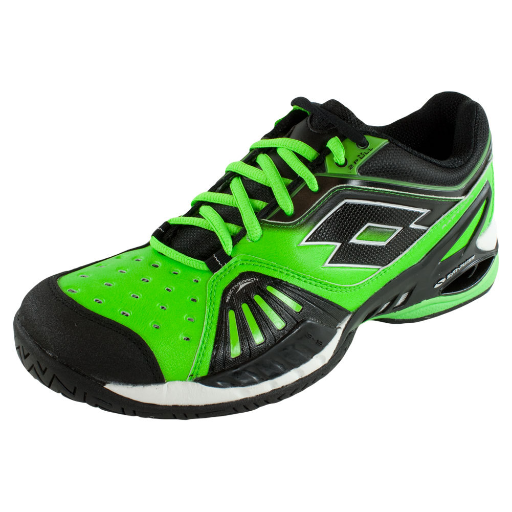 lotto s raptor ultra iv speed tennis shoes fluo mint
