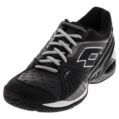 Men`s Raptor Ultra IV Speed Tennis Shoes Black and Gravity Titan