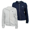 LACOSTE Women`s Long Sleeve Hooded Tennis Sweatshirt