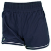 LACOSTE Women`s Tech Contrast Tip Tennis Short Navy Blue