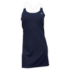 LACOSTE Women`s Sleeveless Tech Strap Tennis Dress Navy Blue